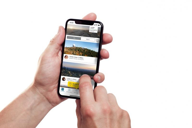 Die neue Wander-App mit digitaler Wandernadel-Funktion der Ferienregion Nationalpark Bayerischer Wald.