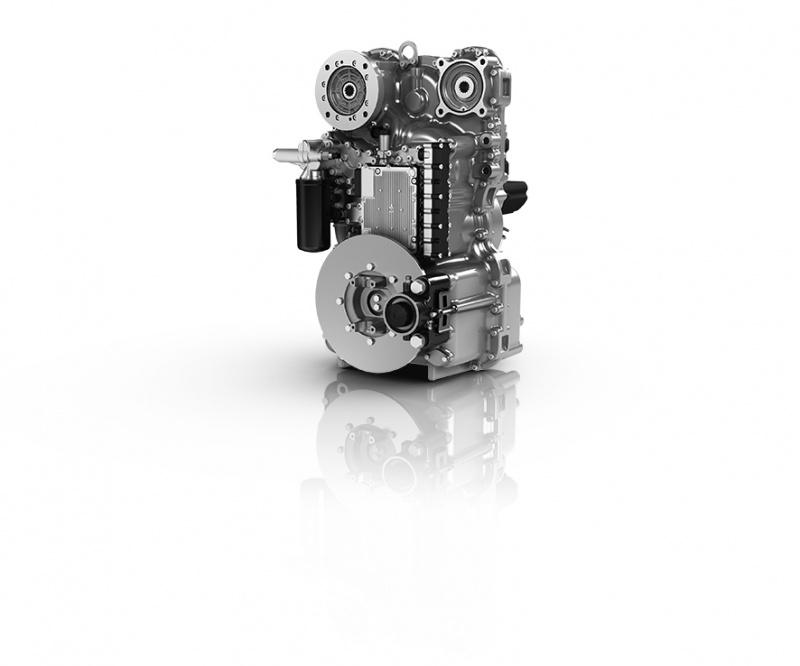 2)Das cPower-Stufenlosgetriebe wird in Passau produziert und spart bis zu 35 Prozent Kraftstoff ein.