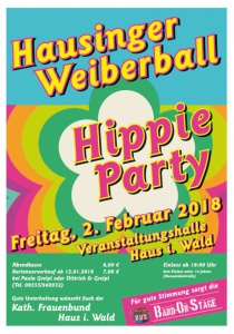 Hausinger Weiberball | Fr, 02.02.2018 ab 18:00 Uhr