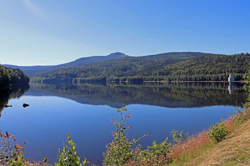 An der Trinkwassertalsperre vorbei führt die Radtour am 12. September