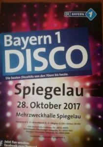 Bayern 1 Disco   Sa, 28.10.2017 ab 20:00 Uhr