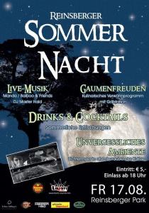 Reinsberger Sommernacht | Fr, 17.08.2018 ab 18:00 Uhr