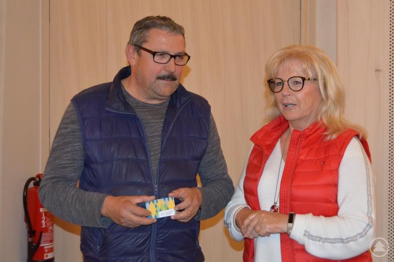 Stadtrat Otto Christoph und FU-Vorsitzende und stellvertretende Landrätin Helga Weinberger.