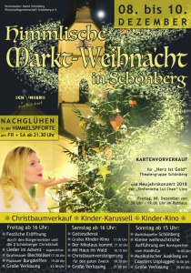 Himmlische Marktweihnacht Schönberg | Fr, 08.12.2017 - So, 10.12.2017