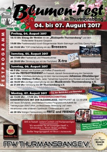 Blumenfest in Thurmansbang | Fr, 04.08.2017 - Mo, 07.08.2017