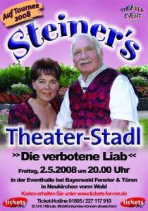 Steiner   Fr, 02.05.2008 ab 20:00 Uhr