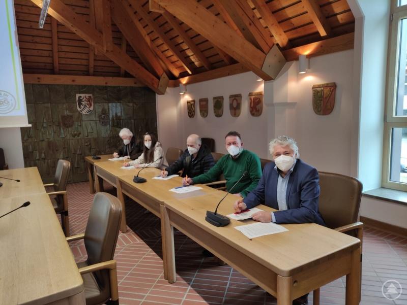 v.l.: M. Pfeffer, C. Dafinger, R. Brunnhölzl, A. Pfeffer, B. Sieghart