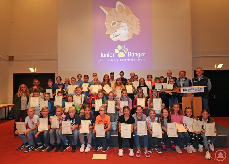 In den Sommerferien nahmen 51 Kinder am Junior-Ranger-Programm teil. Damit hat das Projekt mittlerweile knapp 3000 Mädchen und Jungen der fünften Jahrgangsstufe erreicht.