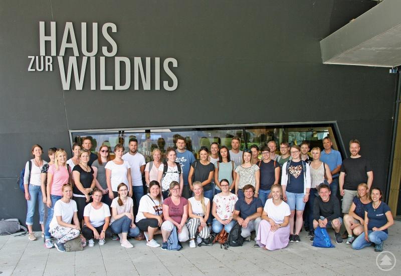 Informationen über den Nationalpark sowie über Angebote für Schulklassen erhielten die Mittelschul-Referendare aus den Landkreisen Deggendorf und Regen im Haus zur Wildnis.