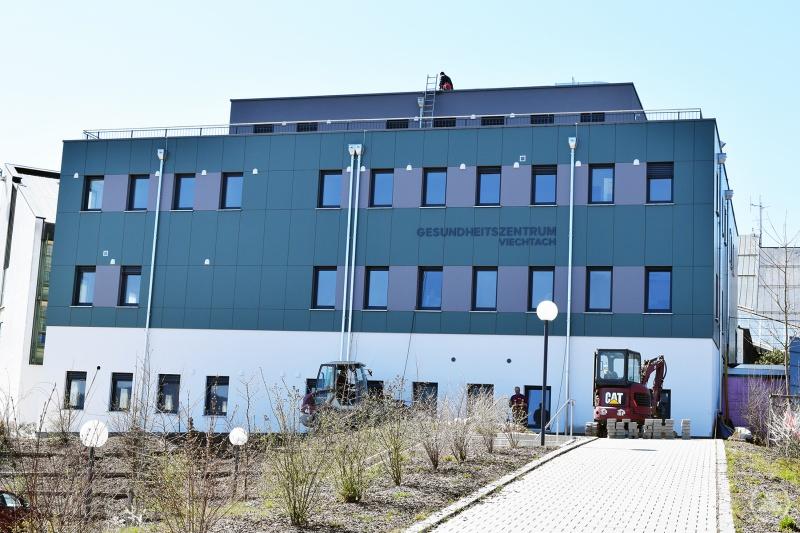 Neues Gesundheitszentrum direkt an der Arberlandklinik Viechtach