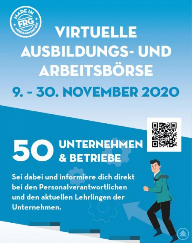 """Im """"Pandemie-Jahr"""" ist vieles anders als gewohnt: Die Ausbildungs- und Arbeitsbörse im Landkreis Freyung-Grafenau 2020 wird digital."""