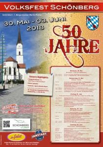Volksfest Schönberg | Mi, 30.05.2018 - So, 03.06.2018