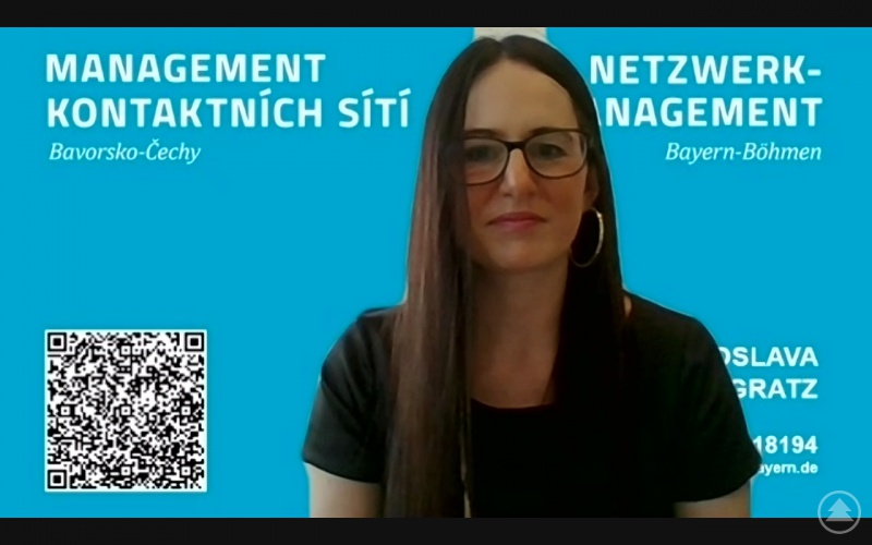Organisatorin Jaroslava Pongratz zog ein positives Fazit der online Veranstaltung.