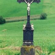 Kreuz zwischen Stöcklholz und Harschetsreuth