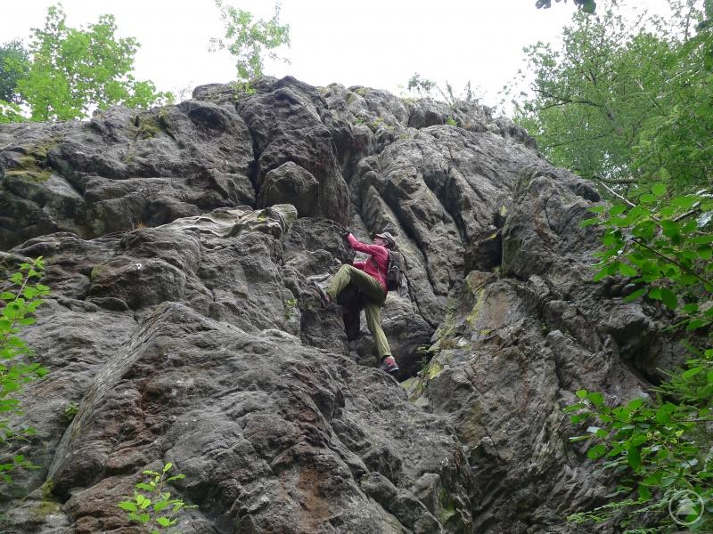 Tolle Felsen in der Saulochschlucht