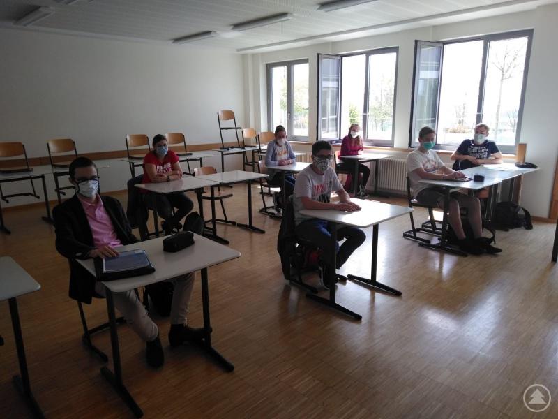 Endlich zurück im Klassenzimmer!