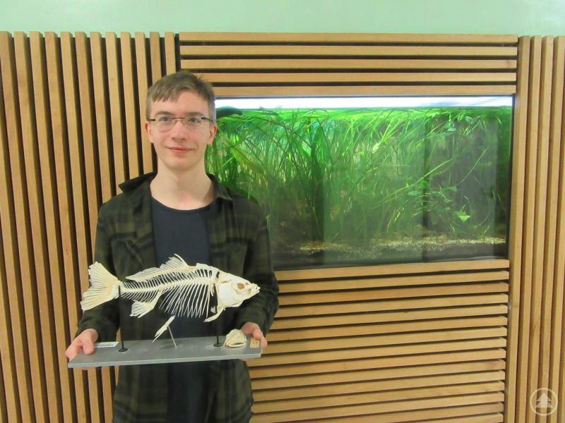 David Volkmann, ein passionierter Fischer, erstellte eine Anleitung zur Präparation von Fischen.