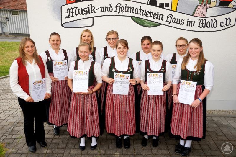 Der Kinder- und Jugendchor unter der Leitung von Petra Fruth feiert dieses Jahr sein 10-jähriges Bestehen.