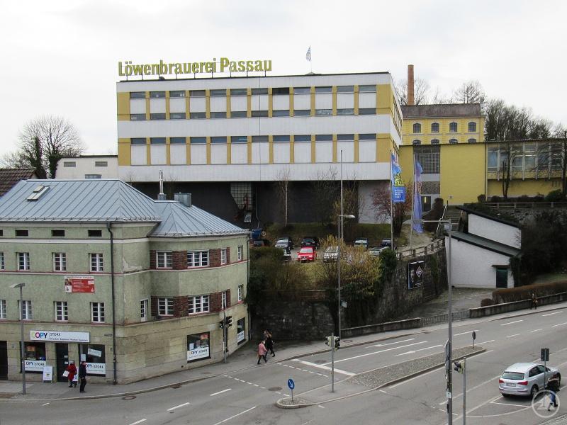 Die Löwenbrauerei im Herzen der Stadt Passau