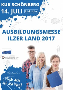 Ausbildungsmesse Ilzer Land - Dein Weg in die Zukunft 2017   Fr, 14.07.2017 von 11:00 bis 21:00 Uhr