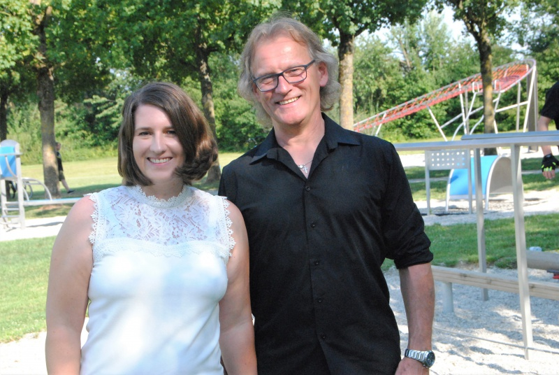 Die BLSV-Trainer Eva-Maria und Eugen Hohenwarter schulen Sportler und Laien vor Ort.