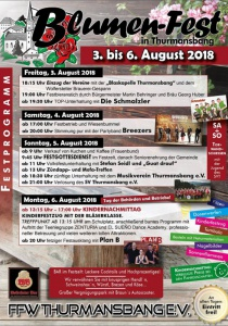 Blumenfest Thurmansbang | Fr, 03.08.2018 - Mo, 06.08.2018