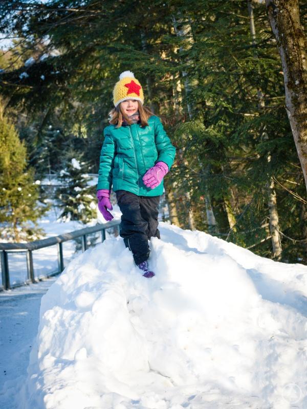 Viel Spaß im Schnee steht beim Faschingsferienprogramm des Nationalparks Bayerischer Wald auf dem Programm.