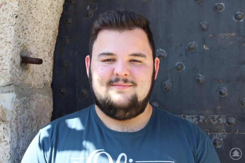 Christoph Küblböck absolviert am Landratsamt die Ausbildung zum Fachinformatiker für Systemintegration.