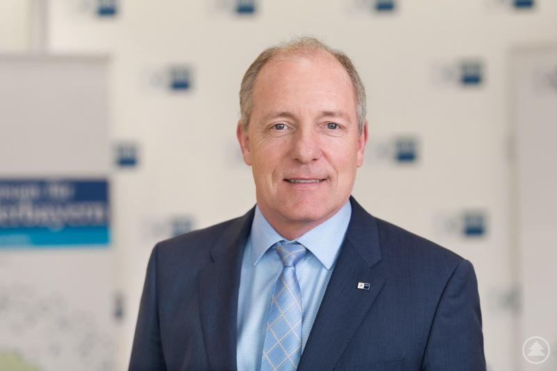 Thomas Leebmann, Präsident der IHK Niederbayern