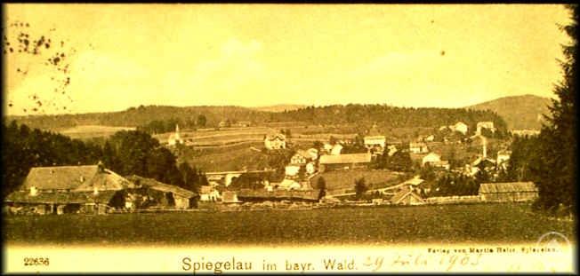 Historisches Bild von Spiegelau
