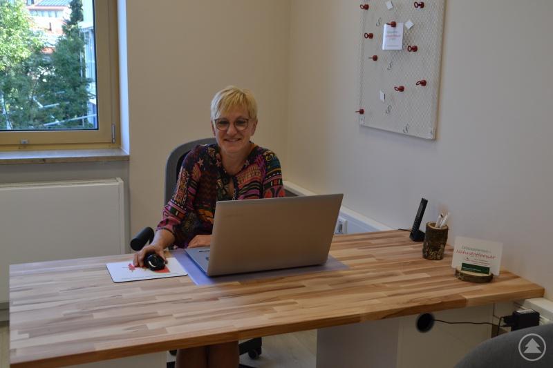 Daniela Helfensteller freut sich darauf, ihre Patienten im Gesundheitszentrum willkommen zu heißen.