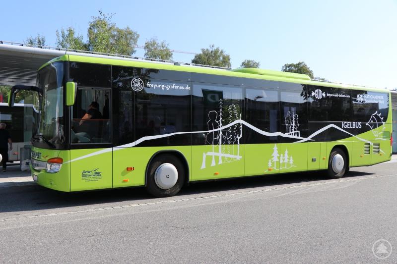 Bei schönem Wetter will der Landkreis an den kommenden Sams- und Sonntagen sieben zusätzliche Fahrten auf der Igelbusline 601-Rachelbus anbieten.