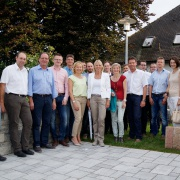 24072014 Wj Besichtigen Die Firma Karl Bachl In Deching Waidlercom