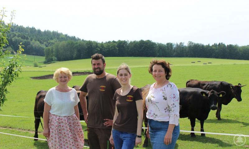 v. l.: PStn Rita Hagl-Kehl, MdB, Florian Götz, Maria Götz, MdL Ruth Müller