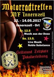 Motorradtreffen MF Innernzell | Fr, 12.05.2017 - So, 14.05.2017