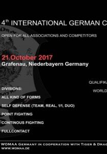 Internationale Deutsche Meisterschaften | Sa, 21.10.2017 von 13:00 bis 17:00 Uhr