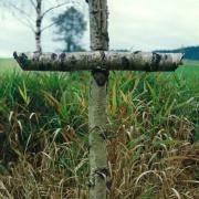 Soldatenkreuz am Rande des Furthinger Holzes