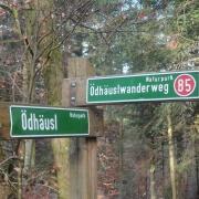 Ödhäusl Wanderweg