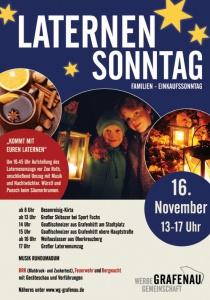 Laternen Sonntag | So, 16.11.2014 ab 08:00 Uhr