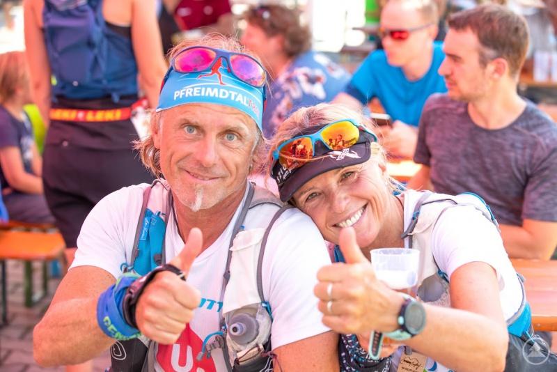 Die Kursleiter Helga und Helmut Dietl