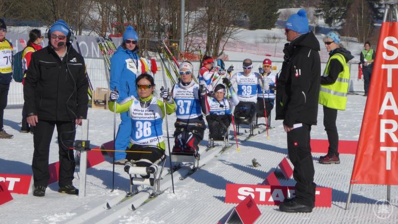 Sportler und die Funktionäre sind bereit für den Start des Weltcups 2020