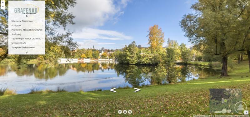 Möchten auch Sie virtuell durch Grafenau spazieren? Dann besuchen Sie den digitalen Dorfplatz (www.ile.digital) der ILE Ilzer Land oder die Homepage der Stadt Grafenau.