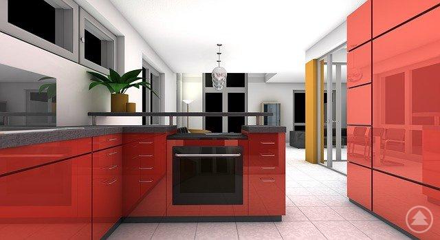 Eine geschickte Planung des Küchendreiecks aus Herd, Spüle und Kühlschrank ist das A und O für eine praktische Küchengestaltung.