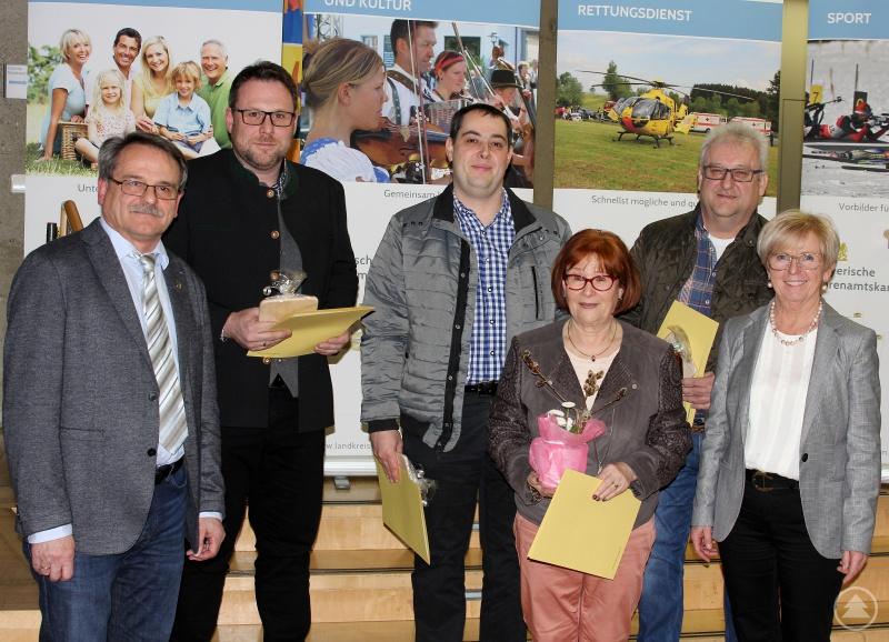 Landrätin Rita Röhrl und 2. Bürgermeister Johann Altmann