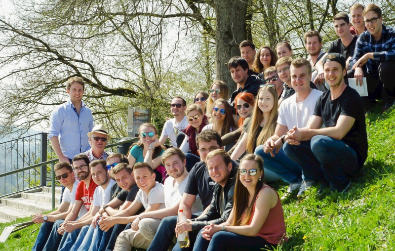Bei der Existenzgründungswoche an der THD konnten die Studierenden auch gleich das schöne Wetter genießen und die Region kennenlernen. Mit den Betreuern Tobias Bauer und Vilem Dostal von der THD fuhren sie nach Passau.