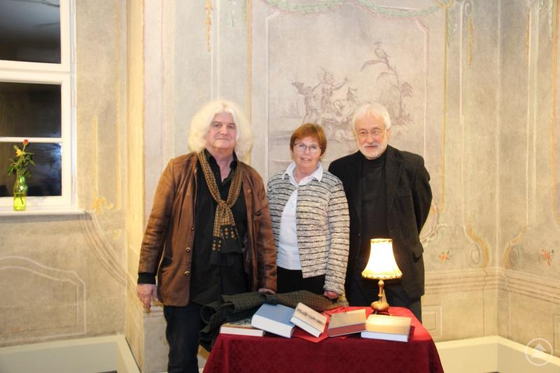 v.l. Jakob Wünsch, Museumsleiterin Marina Reitmaier-Ranzinger, Karl-Heinz Reimeier
