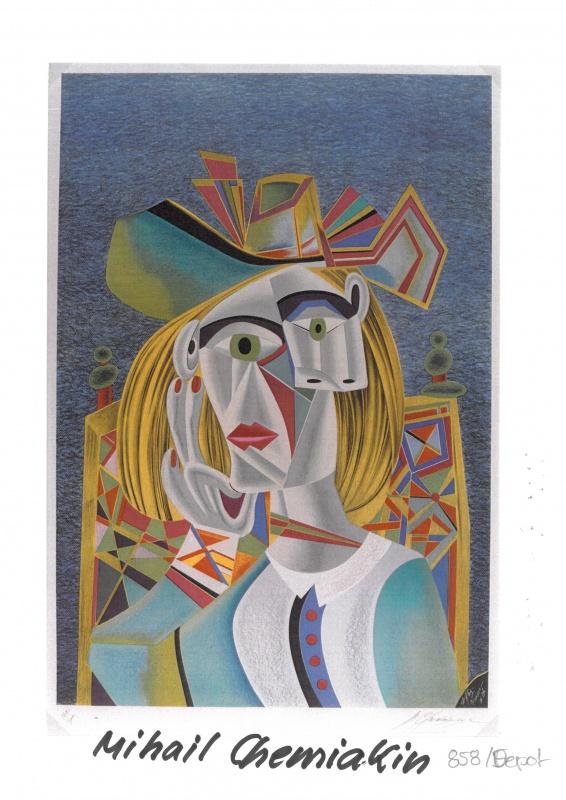 """Ein zentrales Element der Ausstellung: Mihail Chemiakin's """"Hommage à Picasso""""."""