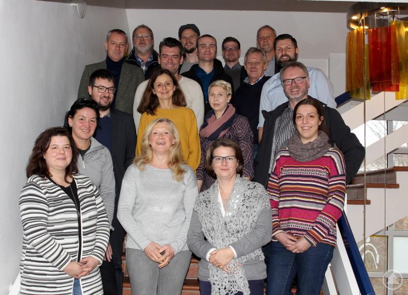 Die Teilnehmer der Projektbeiratstreffen.