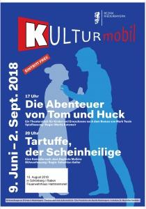 Kulturmobil in Schönberg | Fr, 10.08.2018 von 17:00 bis 23:00 Uhr