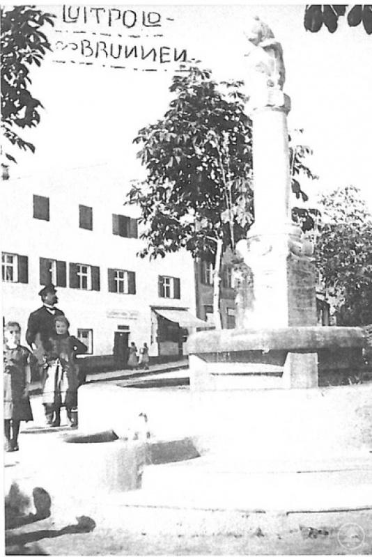 Luitpoldbrunnen am Stadtplatz